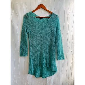 NWOT The Limited Women's Turquoise Long Knit